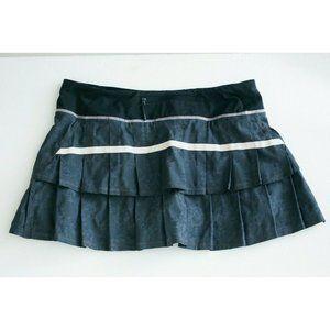 Lululemon Grey Pace Revival Tennis Running Skirt